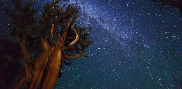kaliforniya - meteor yagmuru