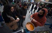 Yüksel'de Çorba Dağıtımı - Foto: Emine Kart